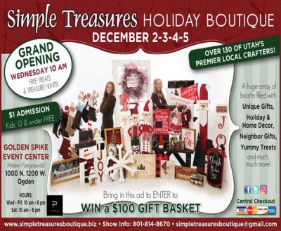 Simple Treasures Holiday Boutique in Ogden
