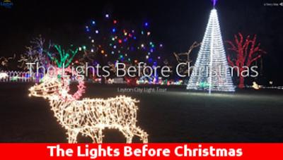 """2020 Layton City """"Lights Before Christmas"""" Display"""
