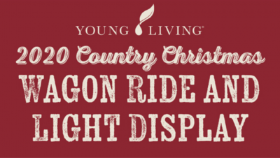 Young Living 2020 Country Christmas Wagon Ride and...