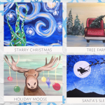Painting at The Peaks: December Classes