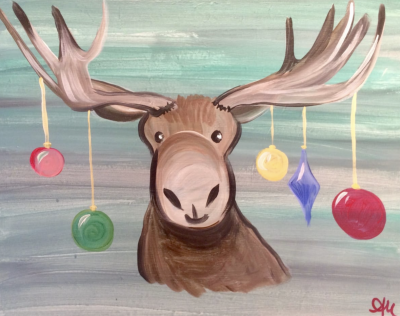 Holiday Moose - All Ages