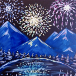 Painting at The Peaks: Mountain Celebration