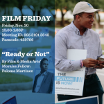 "Department of Film & Media Arts  Film Friday  ""Ready or Not"""
