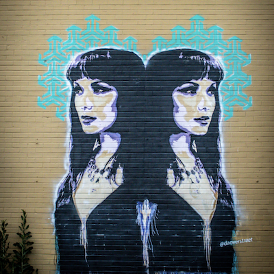 Salon NV Mural
