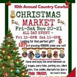 10th Annual Country Cowboy Christmas Market