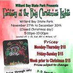 2020 Fantasy at the Bay Christmas Lights