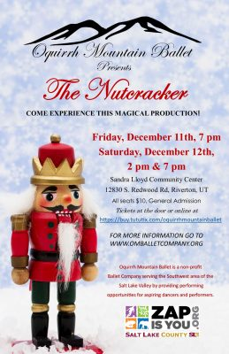 Oquirrh Mountain Ballet: The Nutcracker