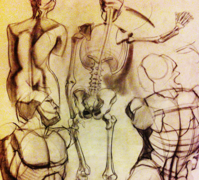 Teen Anatomy Drawing Class