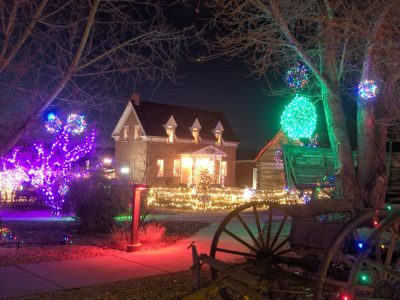 Lights at the Homestead