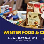 EBC Winter Food and Clothing Drive