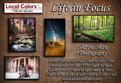 Life in Focus Photorgaphy Art Show