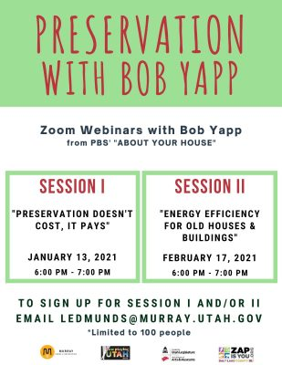 Preservation with Bob Yapp Session II