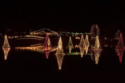 Pond Town Christmas Lighting 2020- MODIFIED