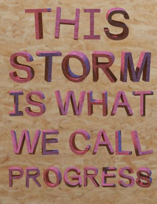 Zachary Norman: This Storm is What We Call Progress