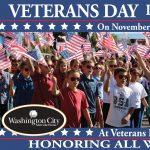 Washington City Veterans Day Celebration 2020- CANCELLED
