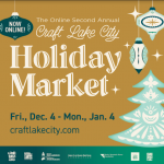 Online Second Annual Craft Lake City Holiday Market