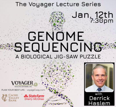 Voyager Lecture Series: Genome Sequencing: A Biological Jigsaw Puzzle- CANCELLED