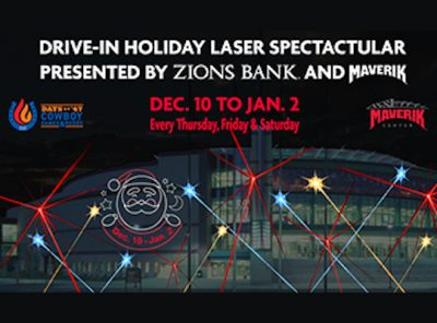 Drive-In Holiday Laser Spectacular