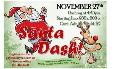 Payson Santa Dash 2020