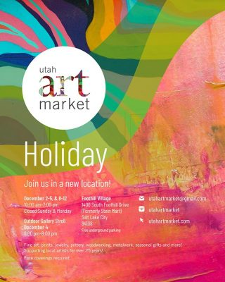 Utah Art Market - holiday event