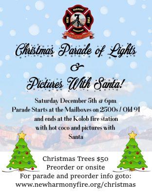 New Harmony Christmas Parade of Lights