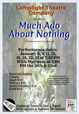 Much Ado About Nothing: A Shakespearean play with ...