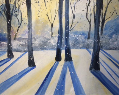 Public Event: Wine, Cheese, & Painting with th...
