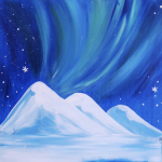 Pizza & Paint at The Peaks: Aurora