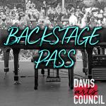 Davis Arts Council | Backstage Pass