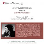 Guest Writers Series with Miranda Mellis