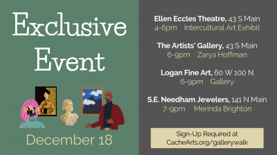 Downtown Logan Gallery Walk - Exclusive Event