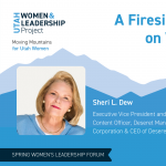 A Fireside Chat with Sheri Dew on Women and Leadership