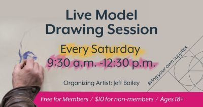 Live Model Drawing Sessions