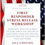 First Responder Stress Release Workshop