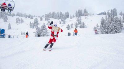 Ride with Santa at Solitude
