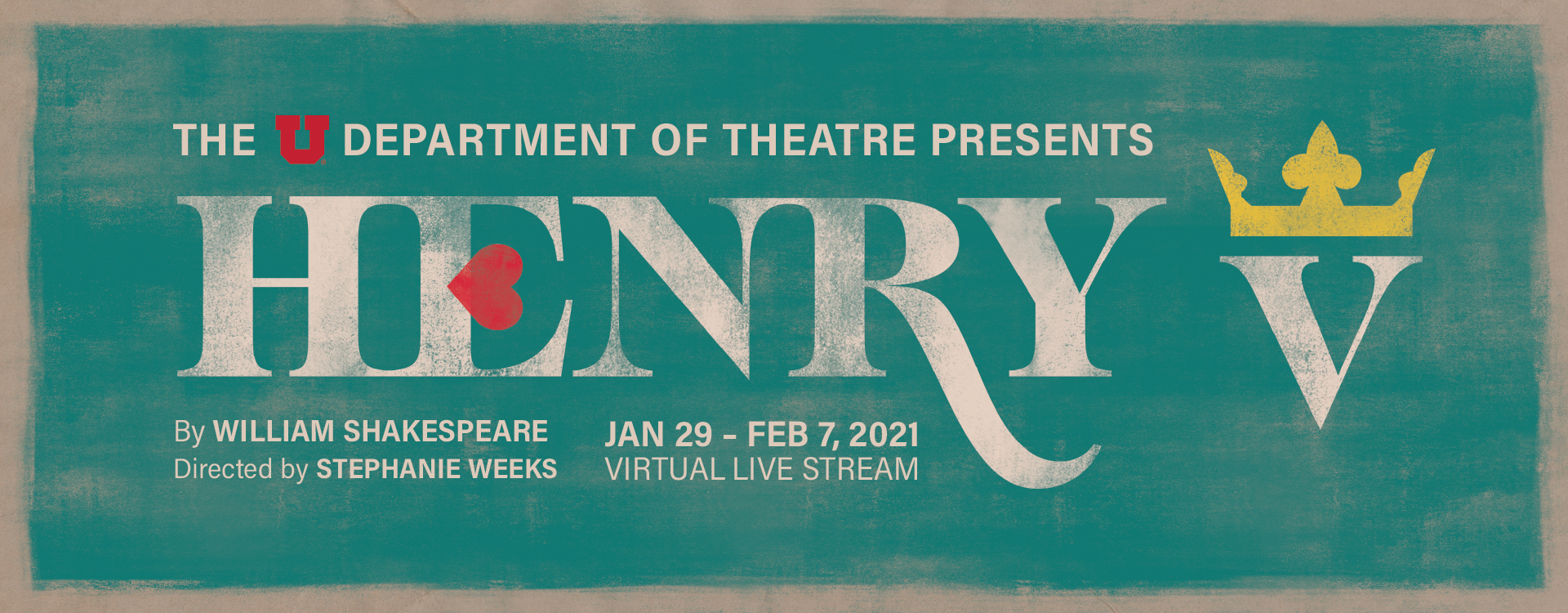 Henry V by U of U Theatre
