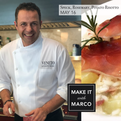 MAKE IT with MARCO: Speck, Rosemary, Potato Risott...