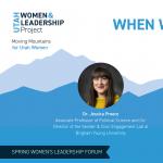 When Women Don't Speak: What It Takes for Women To be Heard