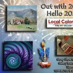 Out with 2020 ... Hello 2021! Group Art Show