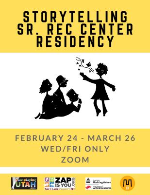 Storytelling Sr. Rec Center Residency