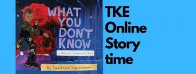 TKE presents an ONLINE STORYTIME | Anastasia Higgi...