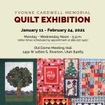 Yvonne Cardwell Memorial Quilt Exhibition