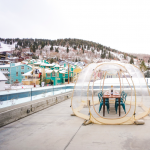 Private Bubble Dining Experience