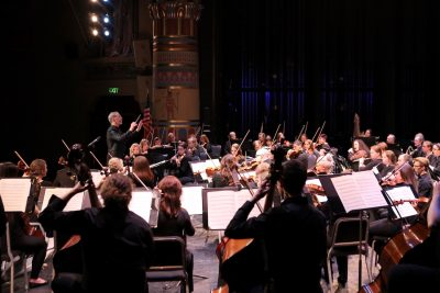 Chamber Orchestra Ogden Red Dress Concert