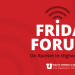 Friday Forum: A Call for Racial Healing