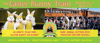 2021 Easter Bunny Train