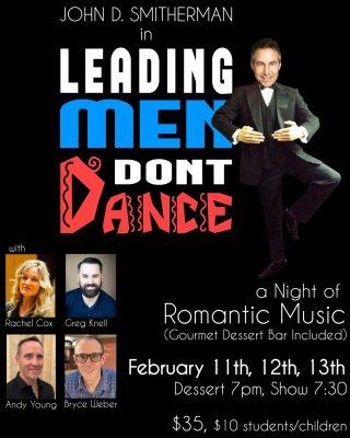 Leading Men Don't Dance!