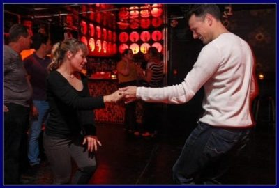 Couples Salsa Dance Instruction with Autumn Bear