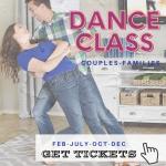 Couples Romantic Swing Dance Class (via Zoom)
