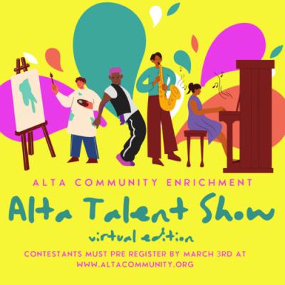2021 Alta Talent Show - Virtual Edition